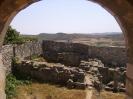 zicht op de archeologische site