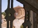het kerkje vanuit de klokketoren